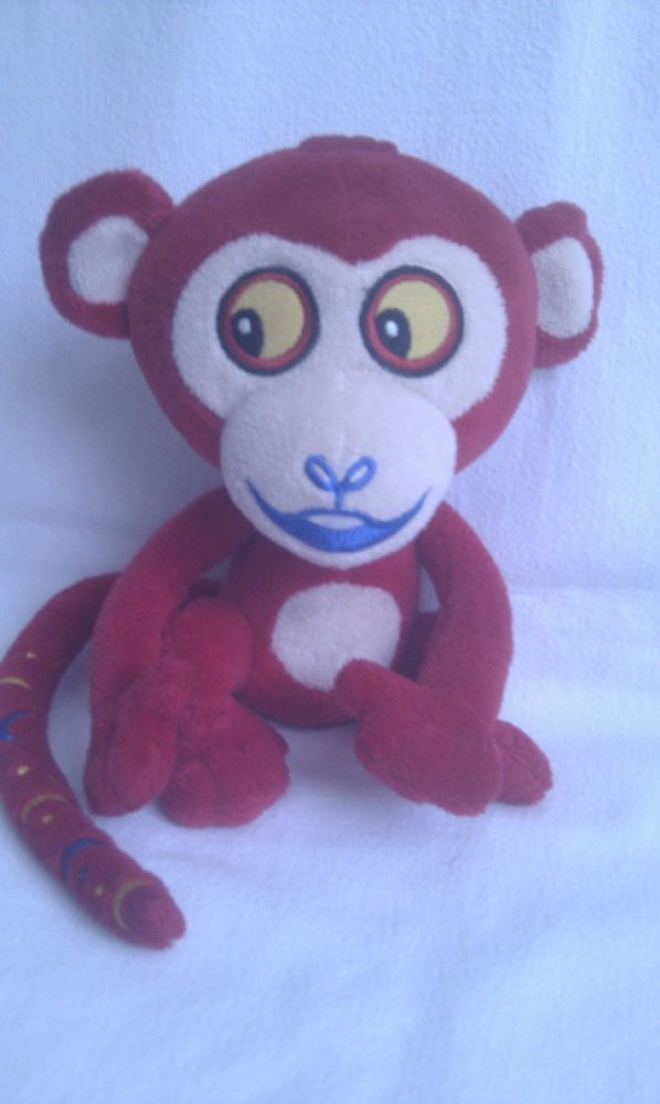 Adorable My 1st Tinga Tales Big Monkey Plush Toy